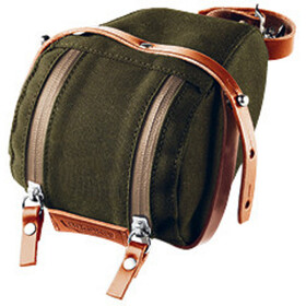 Brooks Isle of Wight Saddle Bag Medium green/honey